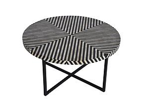 Meeraz Bone Inlay coffee table