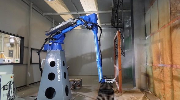 CurveRobot ,Beijing, 3D Spray Painting Robot,Beijing: CurveRobot with 3D Spray Painting Robot Obtained the Angel Round Financing of Millions of RMB