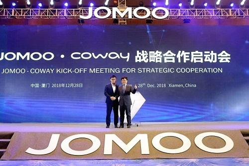 JOMOO,Coway ,Chinese Sanitary Ware Brand JOMOO and South Korea Coway Launch Strategic Cooperation