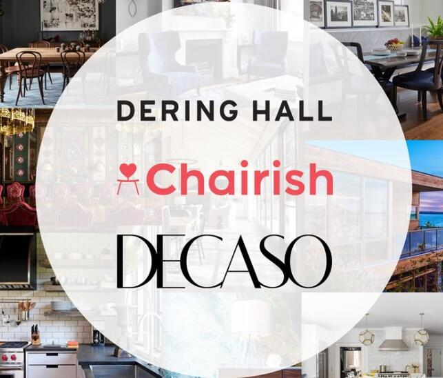 Chairish,Dering Hall,Leading Online Home Furnishings Platform Chairish Inc. Acquires Dering Hall