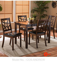 COS-ANDREW DINING SET (1+4)