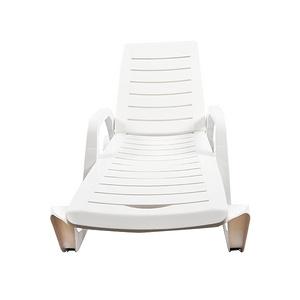 Akdeniz Sunbed - White