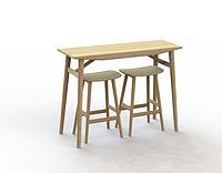 Clipper bar table