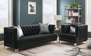 HS-371 Living Room Sofa Set Fabric Sofa