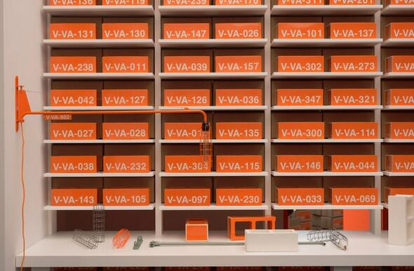 Virgil Abloh,Vitra ,Virgil Abloh hacks the Vitra archive to create vision of a home in 2035