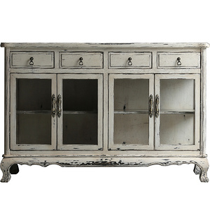 Ancient Age furniture Pastoral multi-functional classical decorative sideboard