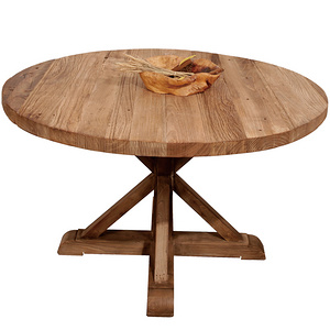 Ancient Age furnitrue Chinese reclaimed elm wood round table