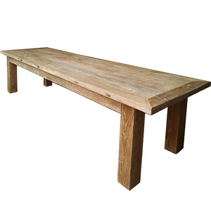 Ancient Age furniture Reclaimed elm wood long conference table