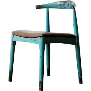 Ancient Age furniture Northern European simple leisure distressed paint chair