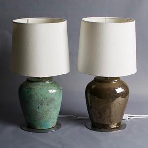 Stoneware lamp