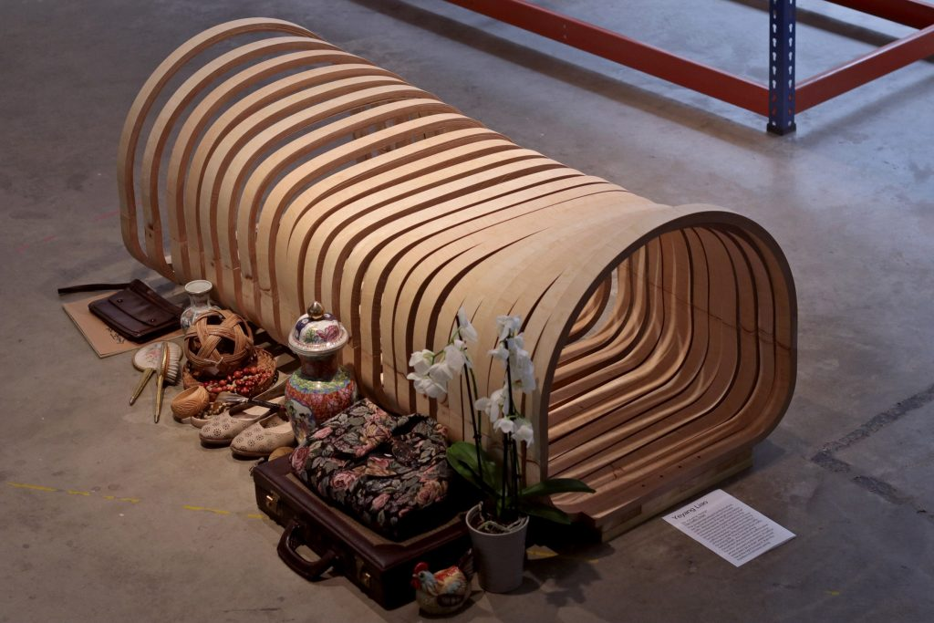 Yeyang Liao,Yeyang Liao creates chair that transforms into a coffin