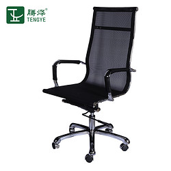 TENGYE office computer chair net cloth rotary lifting staff chair ergonomic backrest office chair TY-207A