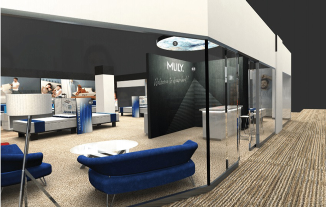 China's Mattress Brand MLILY Doubles Size of Las Vegas Showroom