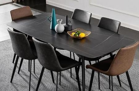 Foshan Tengye Intelligent Furniture: SINTERED STONE applied to furniture