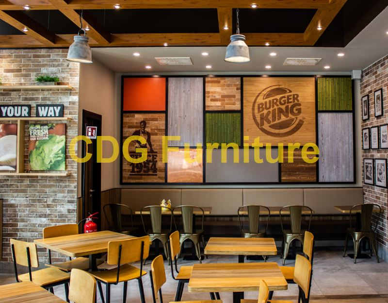 Mcdonald\'S Burger King KFC Subway Starbucks Wendy\'S Chain restaurant Furniture Chair 658B-H45-STW 2