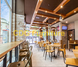 Mcdonald'S Burger King KFC Subway Starbucks Wendy'S Chain restaurant Furniture Chair 658B-H45-STW
