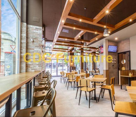 Mcdonald\'S Burger King KFC Subway Starbucks Wendy\'S Chain restaurant Furniture Chair 658B-H45-STW
