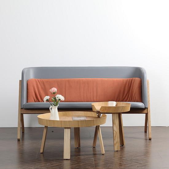 Luxury living room round coffee table