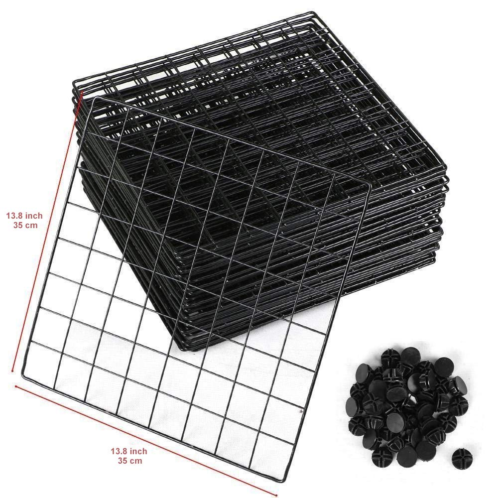 12 Cube Wire Storage Shelves 6