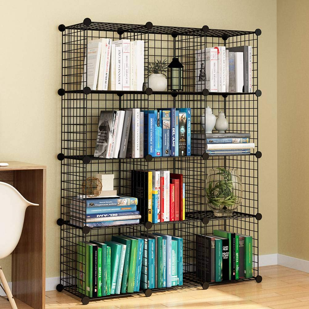 12 Cube Wire Storage Shelves 2