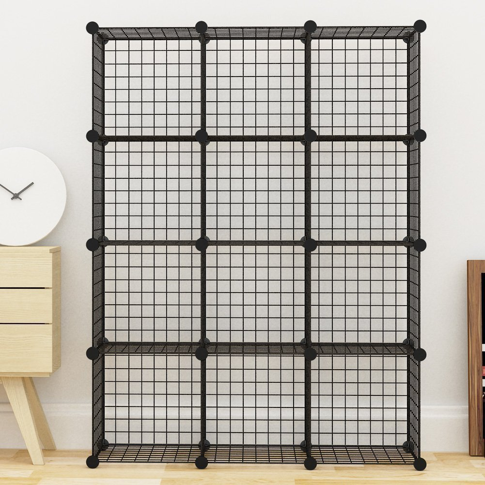 12 Cube Wire Storage Shelves 3