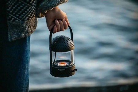 Stockholm brand Transparent Sound launches \'camping light style\' Bluetooth speaker