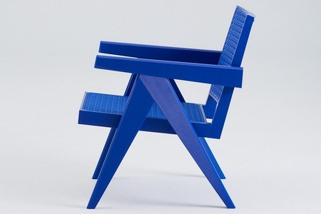 Benjamin Fainlight puts streetwear spin on Pierre Jeanneret\'s Chandigarh Easy Chair