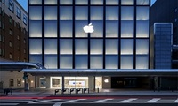 Infusion of Japanese Design Elements, the Official Opening of First Apple Store in Kyoto