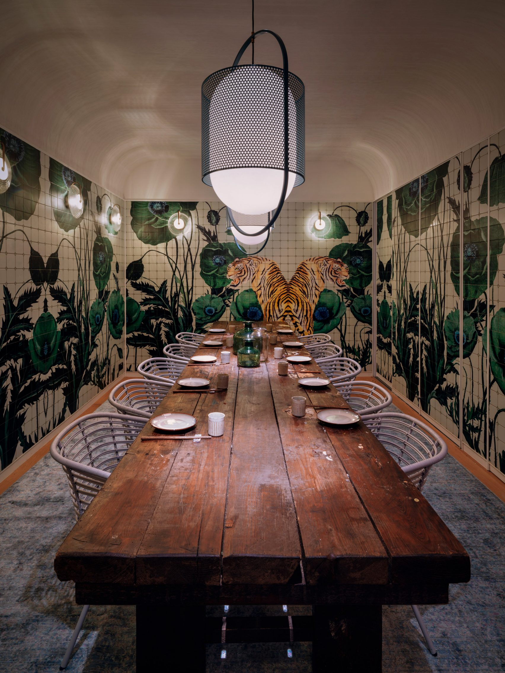 "Linehouse ,Dim sum restaurant by Linehouse is ""British tea hall turned Chinese canteen"""