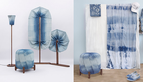 TURN TO BLUE: A group of cloth removable furniture in the 3rd Salone Satellite Shanghai
