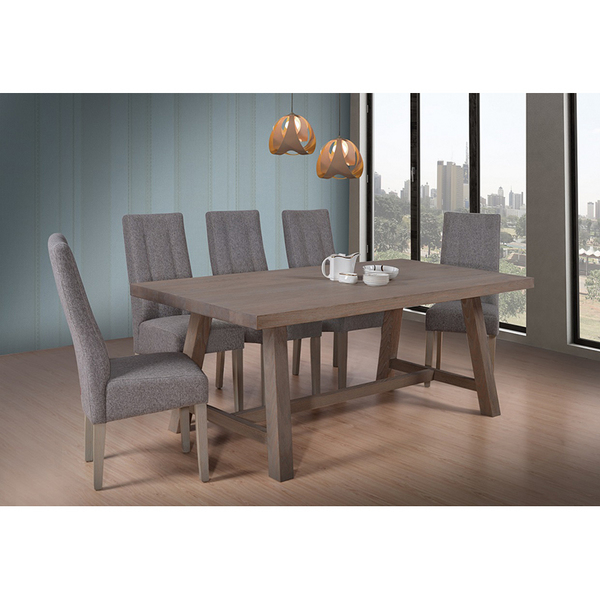 Luxembourg Elm Dinning Table and Chair