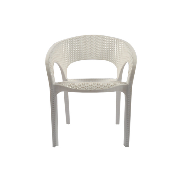 Comfort Armchair - White