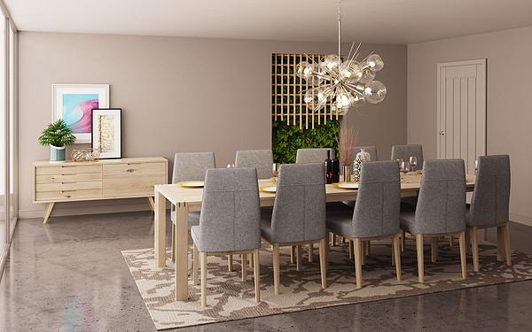 Toledo Oak Dining Room Set