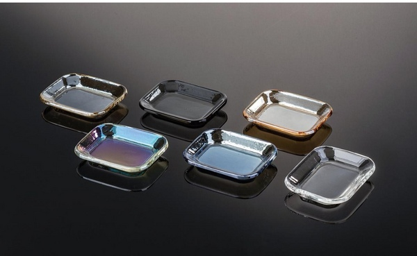 Color Coated crystal soap dish