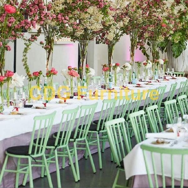 Cheap Modern Design General Metal Stackable Wedding Event Chair Banquet Party Rental Luxury Acrylic Chiavari Chair 727-H45-ALU