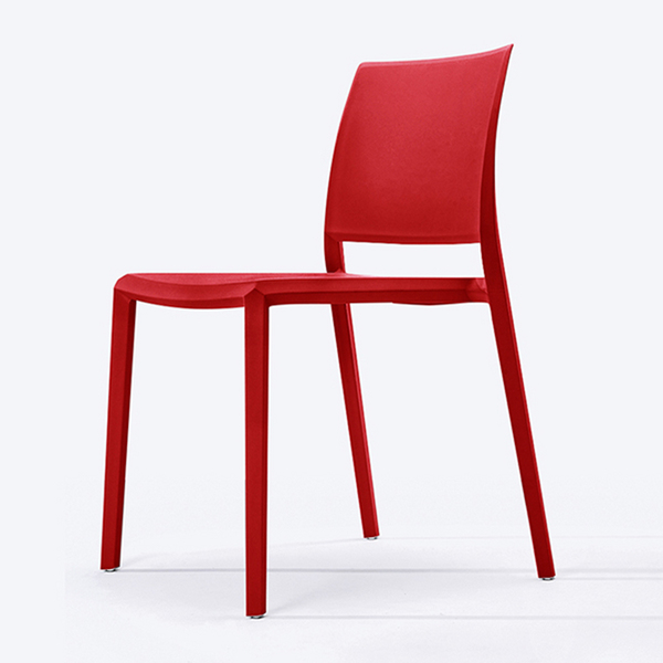 Modern designer indoor plastic home dining room chairs