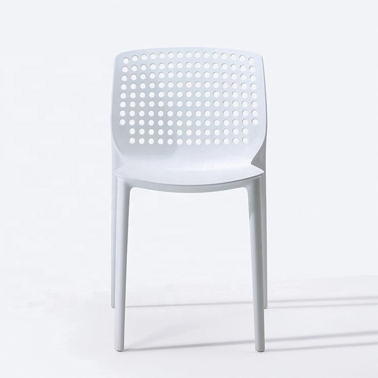 New stylish plastic modern design chaise for  restaurant and cafe