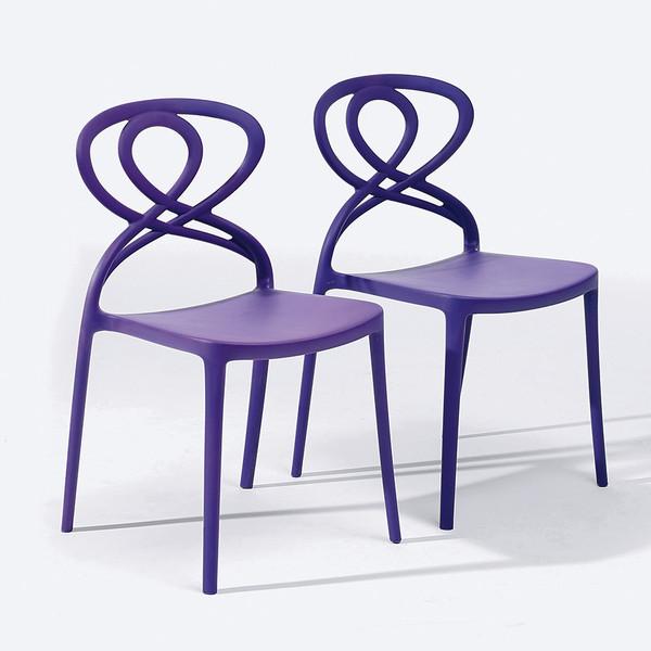 Latest fashion pink design charivari polypropylene event wedding chairs