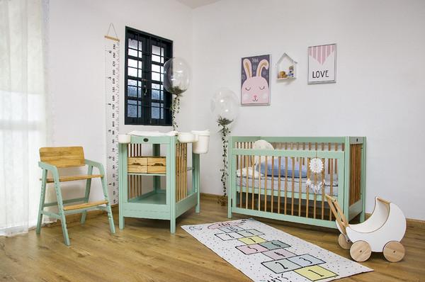 Clover Baby Bedroom Set