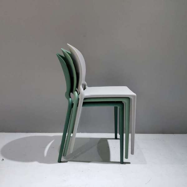 Original design simple style plastic dining office outdoor chairs