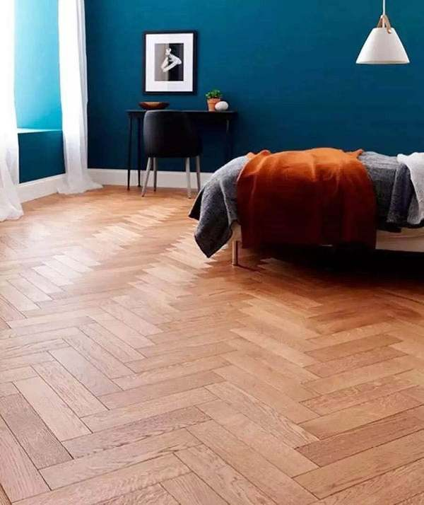 Herringbone Pattern SPC Flooring