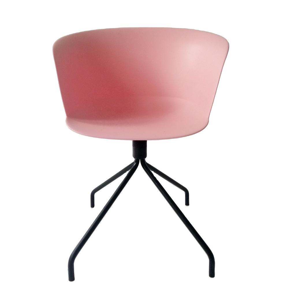 design plastic seat metal leg dining office living room chair