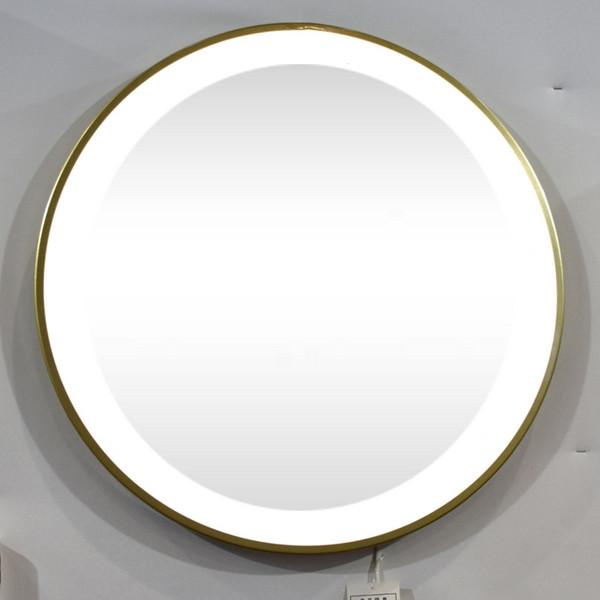 Round Led Illuminated Mirror