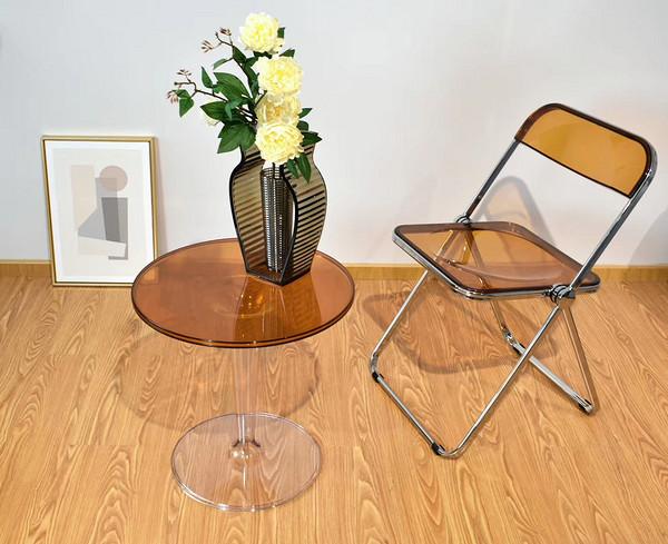Plastic folding chair for wedding