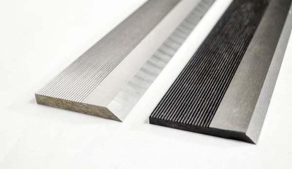 Corrugated knife