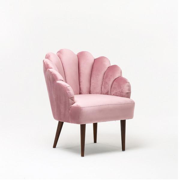 Modern Living Room Furniture Pink Velvet chair single Armchairs Hotel Bedroom Sofa Chair