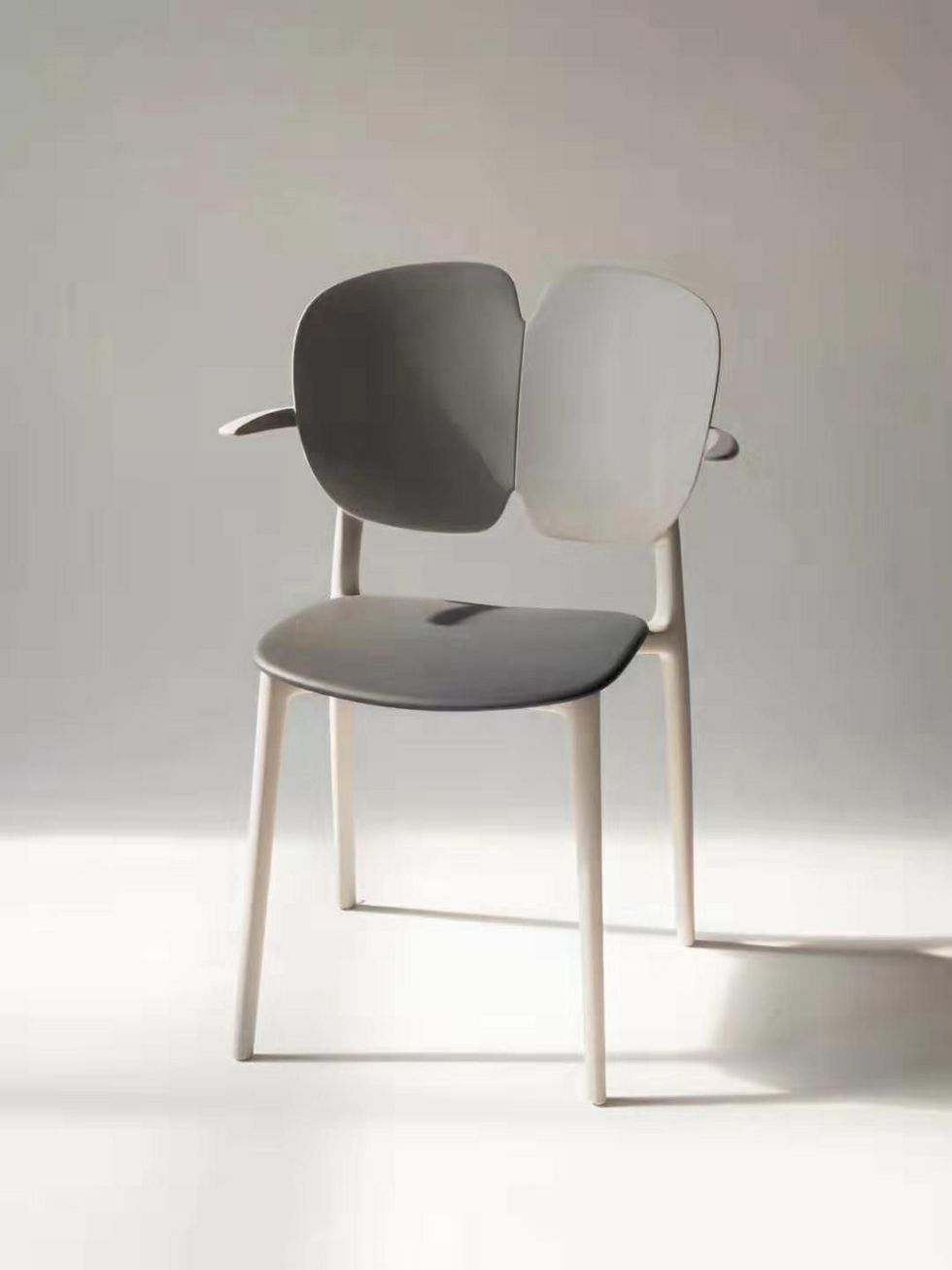 design plastic dining chair, office chair, cafe chair