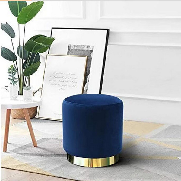 Round stool & ottoman