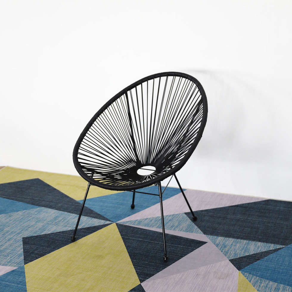 PE rattan wicker sofa set conversation set
