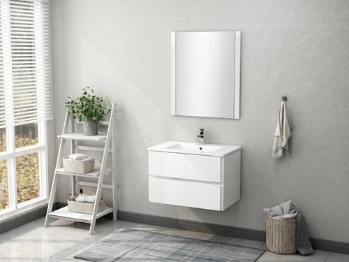 Wholesale Modern MDF Wall Mounted Mirrors Sink Bathroom Vanities MPYJ-39